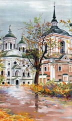 Painting - Orthodox temple