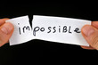 ������, ������: Impossible ou possible