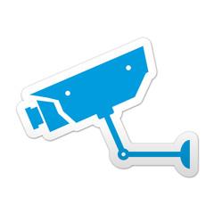 Pegatina simbolo videocamara