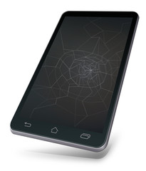 Broken mobile device