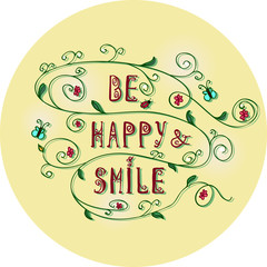 Be happy and smile1