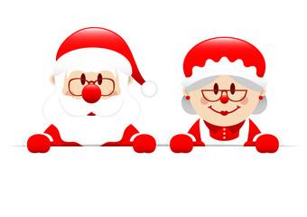Santa & Mrs. Santa Header