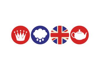 London. Icon set
