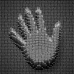 Nails Board Hand