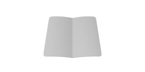 grey  blank magazine