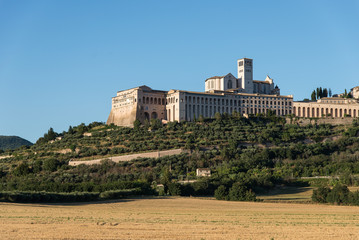 Panoramic view of Assisi