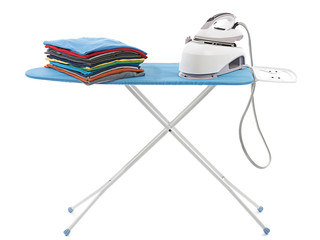 T-shirts on Ironing Board