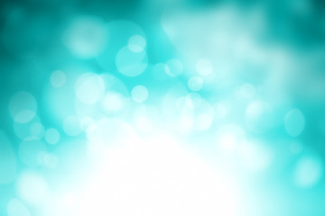 green sparkle blur background