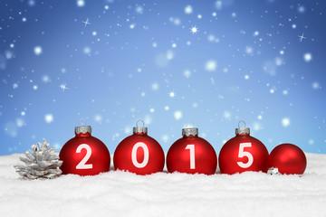 2015 / Weihnachtlicher Hintergrund