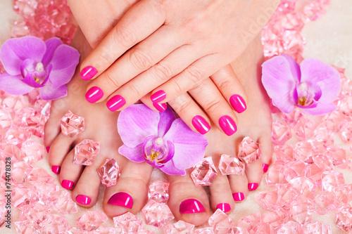 manicure and pedicure - 74478328