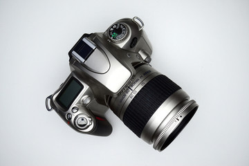 Photocamera Nikon F55 in private collection on November 23, 2014
