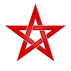 Pentagram - 005B - Red
