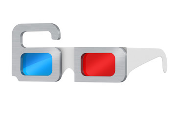 Glasses with metal