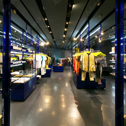 clothes shop interior - 74480503