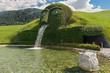 Leinwandbild Motiv Kristallwelten fountain