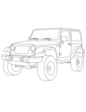 coloring pages for kids car - 74481532