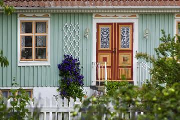 Landhaus im Schwedischen Dorf Kristianopel