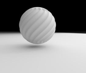 球のオブジェ