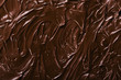texture of chocolate icing close-up - 74482116