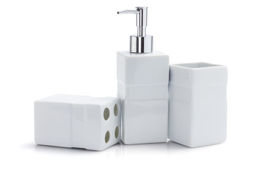 Toiletries Dispenser And Containers