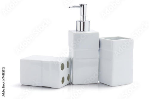 Toiletries Dispenser And Containers - 74482312