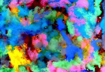 Varicolored Gouache Paint