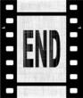 The End Film Strip