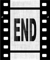 The End Film Strip