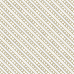 Light Beige and White Small Polka Dots and Stripes Pattern Repea