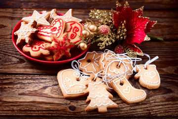 Christmas cookies handmade