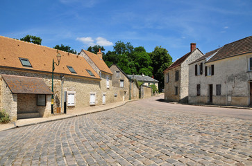 France, the picturesque village of Montreuil sur Epte