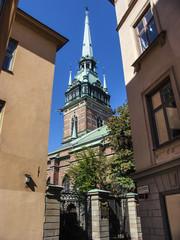 Deutsche Kirche Tyska kyrkan in Gamla Stan