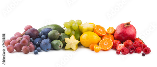 fruit rainbow - 74485513