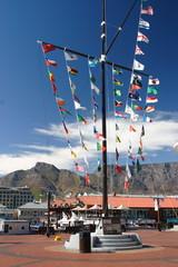 città del capo sudafrica bandiere