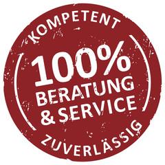 100% Service und Beratung- kompetenzt und zuverlässig
