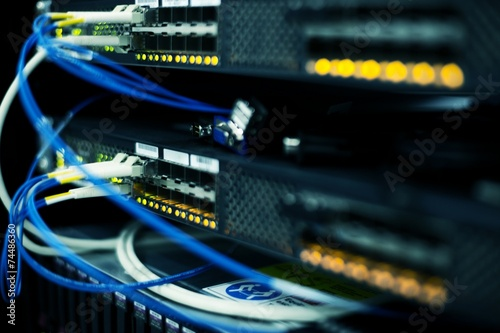 telecommunication devices in the data center - 74486360