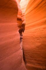 Narrows of a canyon, Utah, USA