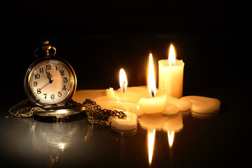Watch And Candles