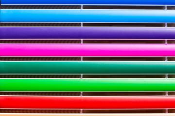 colors bar close-up