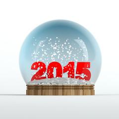 2015 snow globe