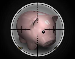 Tirelire Cochon - risque financier