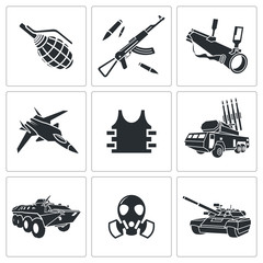 Armament Icon set