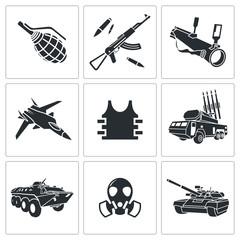 Armament Icon set