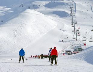 station de sports d'hiver-savoie