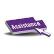 Assistance button