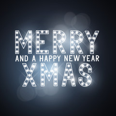 Merry Christmas Message Sign