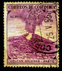 postage stamp columbia