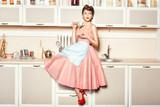 Girl in apron - 74492989