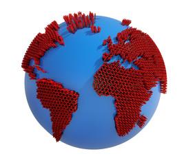 Erde - Bevölkerungsexplosion