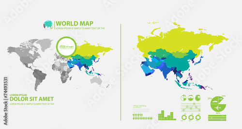 map infographic - 74493531